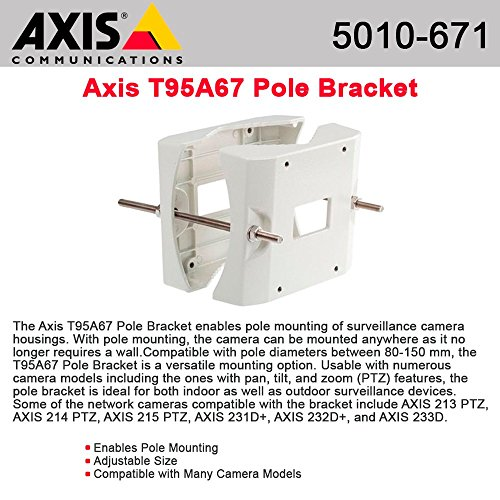Axis 5010671 T95A67 Pole Bracket by AXIS COMMUNICATION  INC.