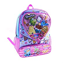 "Backpack - Shopkins - 16"" Dual Front Pocket New SY26966TGPK"