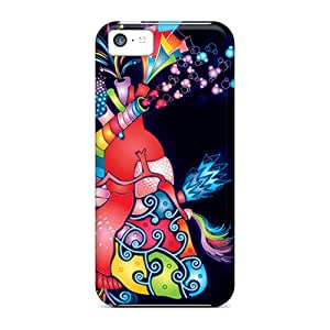 Case Cover Groovy Heart Iphone 5c Protective Case