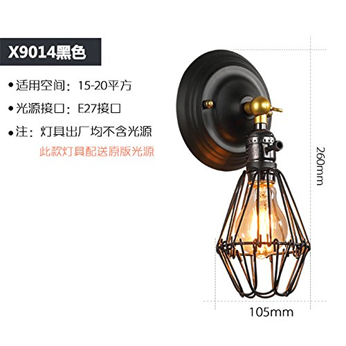 Chambers Ceiling Fixture - DengWu Wall Sconce Loft industrial wind Ceiling Lamps Retro American village aisle balcony adhering the suction chamber Lamp