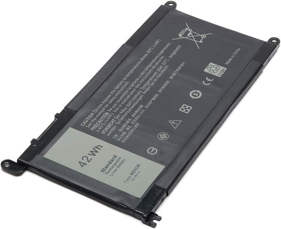 WDX0R Replacement Laptop Battery for Dell Inspiron 13 5368 5378 ...