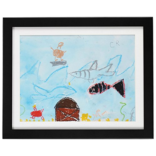 Cabinet Picture Frame - Child Artwork Frame - Display Cabinet Frames And Stores Your Child's Masterpieces - 8.5