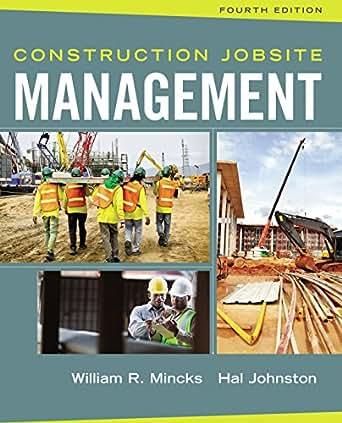Construction Jobsite Management, William R. Mincks, Hal