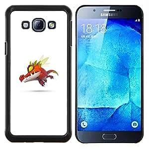 """Be-Star Único Patrón Plástico Duro Fundas Cover Cubre Hard Case Cover Para Samsung Galaxy A8 / SM-A800 ( Monstruo lindo P0kemon"""" )"""