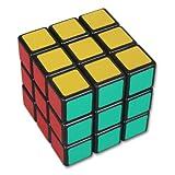 niceeshop(TM) 3x3 Speed Cube 6-Color PVC Sticker Rubik's 3x3 Cube-Black