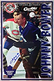 Autographed Johnny Bower Poster - Toronto