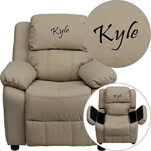 Embroidered Kids Recliner - Personalized Deluxe Kids Recliner
