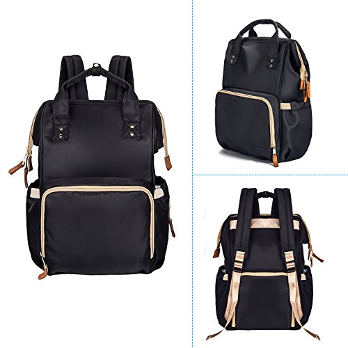 lnglat diaper bag multi function waterproof large baby diaper import it all. Black Bedroom Furniture Sets. Home Design Ideas