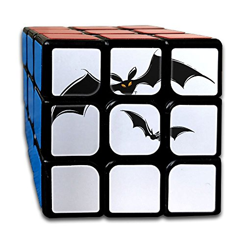 Halloween Bats Magic Cube Brain Training Game Match Puzzle Toy For Kids Or Adults Speed Cube Stickerless Magic - Australian Wolf Bat