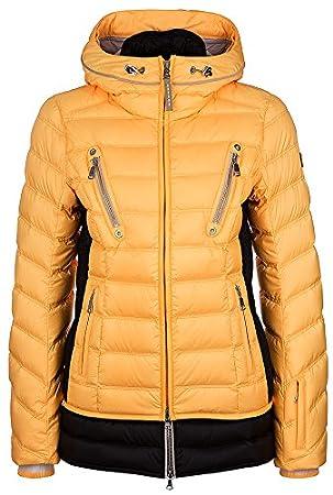 Bogner skijacke damen gelb