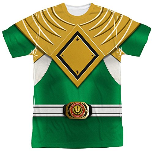 Power Rangers - Green Ranger T-Shirt Size XL