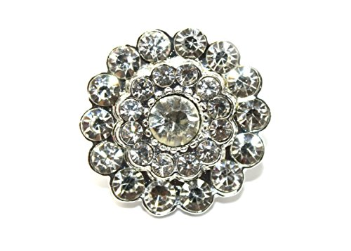 ne Embellishment Flat Back 22mm Multifaceted (25 Pieces) ()