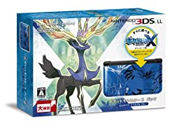 NINTENDO 3DS LL Pocket Monsters X pack Xerneas Yveltal Blue (Japanese Region Games Only)