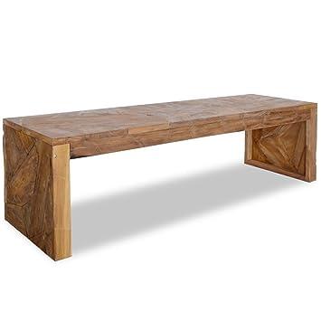 Meuble Teck Cm Vidaxl Table Pour Tv 120x35x35 Télévision N08vmnw