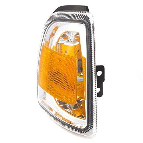 - CarPartsDepot 2006-2011 Ford Ranger Front Passenger RIght Corner Light w Amber Lens