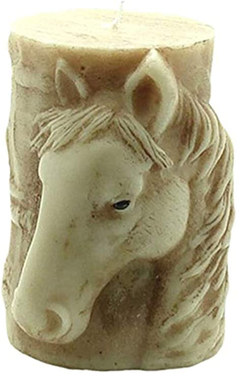 Horse GreatMold 3D Animal Silicone Candle Molds DIY Craft Soap Mold Tiger Horse Elephant Handmade Wax Resin Moulds