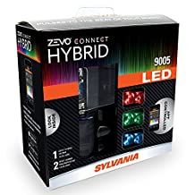 SYLVANIA 9005 ZEVO Connect Hybrid LED Color Changing System for Headlights