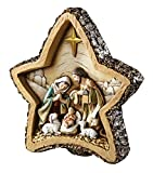Avalon Gallery Nativity Woodcut Figurine, Star
