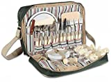 European Scout Picnic Camping Cooler Bag Cutlery 35 Pcs Set