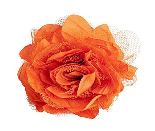 (Fennco Styles Flower Design Napkin Rings, Set of 4 (Persimmon))