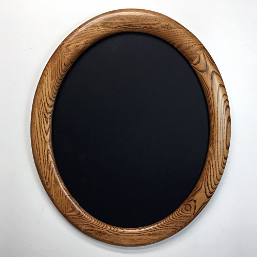 Oval Picture Frames, 16 x 20 Oak, (Medium Oval Frame)