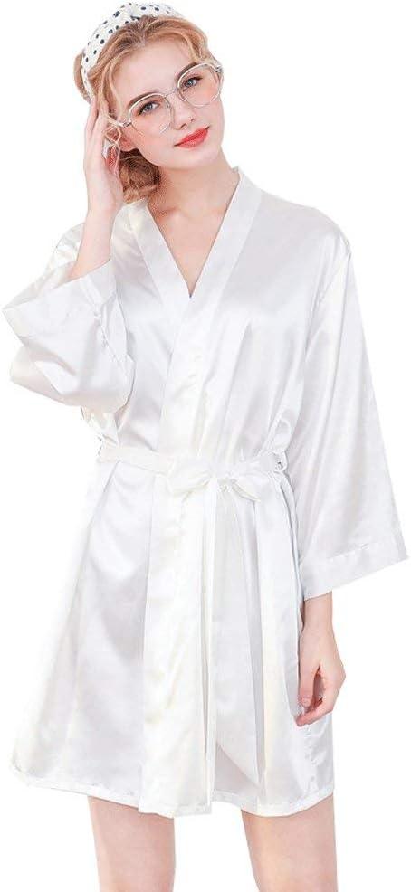 Forall-Ms Batas Personalizadas De Seda, Bata De Estilo Kimono ...