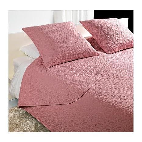 IKEA ALINA - Colcha y 2 fundas de cojines, rosa - 260x280 ...