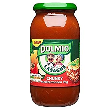 Dolmio Lasaña Mediterannean Grueso Salsa De Verduras 500g (Paquete de 2): Amazon.es: Hogar