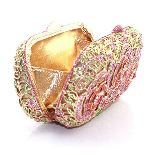 En à Femme Soie Diamant Pink La Pour à De Sac Mode Main RvwE6TqYO