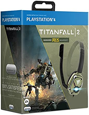 PDP - Auricular Chat LVL 1 Oficial Titanfall 2 Marauder Six Four ...