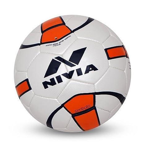 Nivia Simbolo - Balón de fútbol, Talla 5, Color Dorado: Amazon.es ...