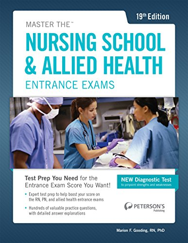 (Master the Nursing School & Allied Health Exams (Peterson's Master the Nursing School & Allied Health Programs Entrances Exams))