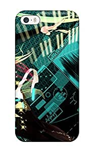 DanRobertse Scratch-free Phone Case For Iphone 5/5s- Retail Packaging - Vocaloid Hatsune Miku Anime Miku Append Vocaloid Append