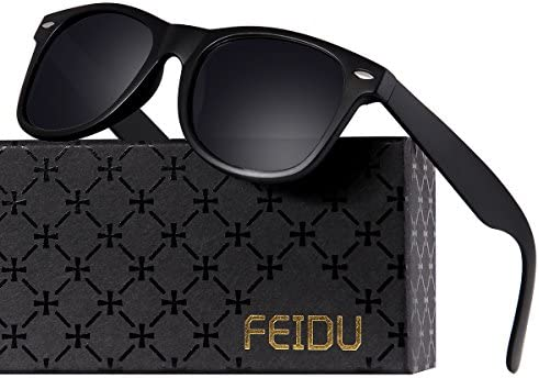 FEIDU Cocoons Fitovers Polarized Sunglasses Aviator (XL)