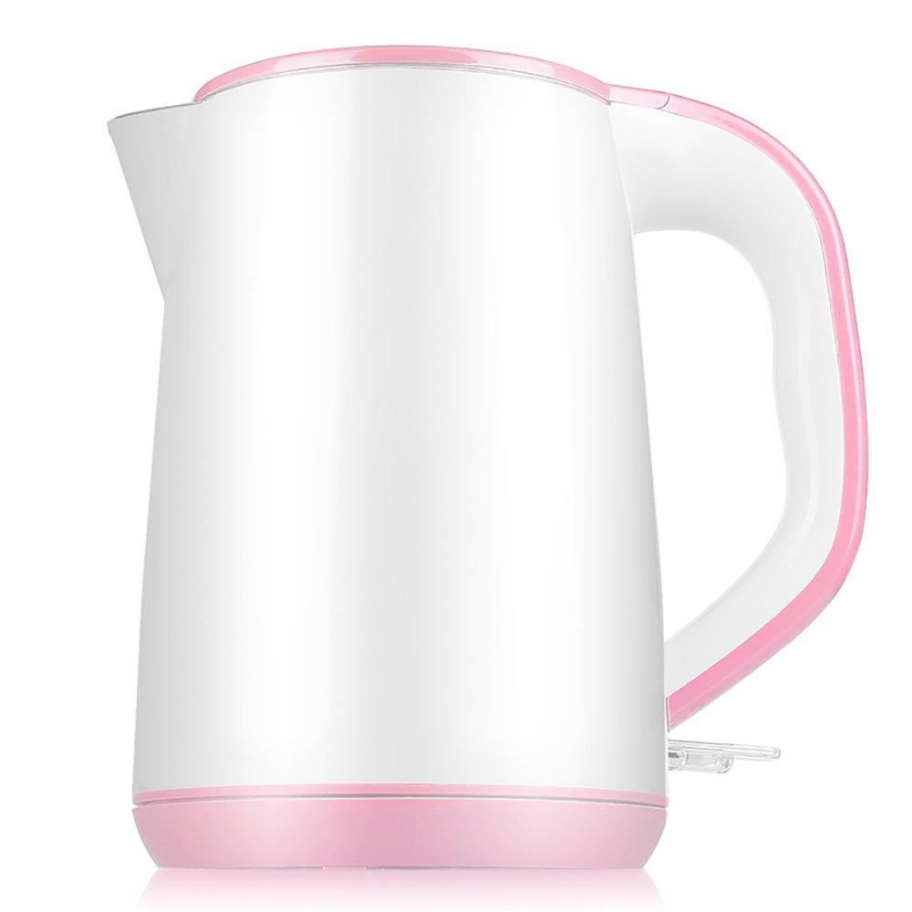 CAIXIA Wassertopf &Wasserkocher Rosa Edelstahl Wasserkocher Automatische Abschaltung Mini Haushalt Haushalt Mini Kettle1.2L Schnelles Kochen d0480a