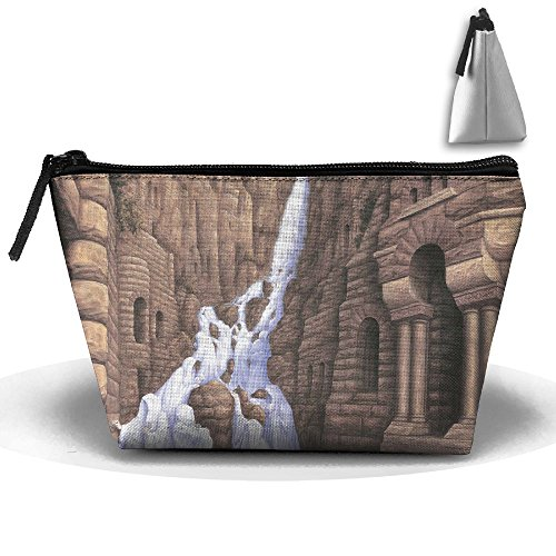 Travel Cosmetic Bags Nun White Clothing Small Makeup