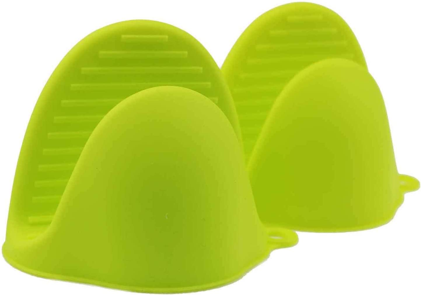hubei Silicone Oven Mitts for Instant Pot or Kitchen use as Potholder or Baking Holder Oven mitt and Mitten Holders can be Used When Cooking on a Grill (1pcs, Green)