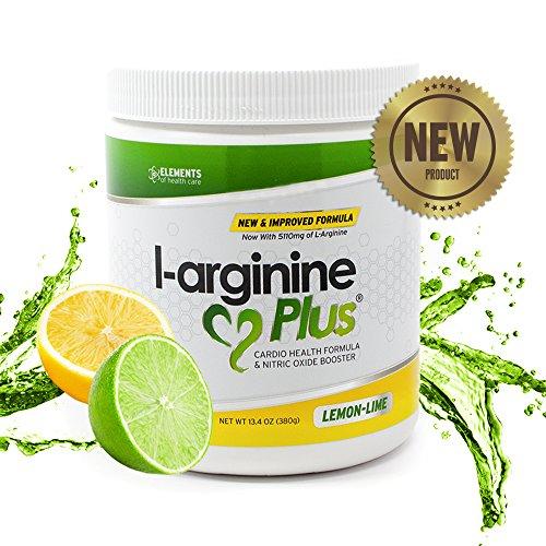L Arginine Plus LemonLime Heart Health Supplement