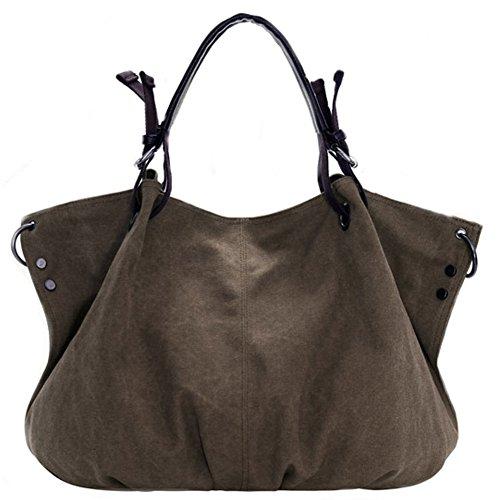 Pairs D - Bolso mochila  para mujer rojo Red marrón