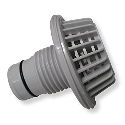 """Summer Escapes Pool Suction Wall Fitting for 1-1/2"""" Filter Connection Hose: Garden & Outdoor"""