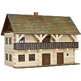 Walachia Vogtei Fachwerkhaus Holz Modellbauset Modellbahn Spur 1/ LGB 1:32