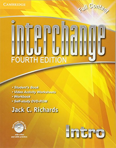 Interchange Intro Full Contact with Self-study DVD-ROM (Interchange Fourth Edition) (Edition Interchange 4th)