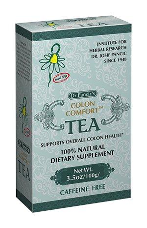 Florida Herbal Pharmacy, Dr Pancic's Colon Comfort Tea, 3.5oz/100g