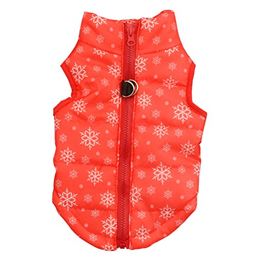 - Soly Tech Pet Dog Vest Winter Padded Coat Warm Clothes Dog Jacket for Small Dogs