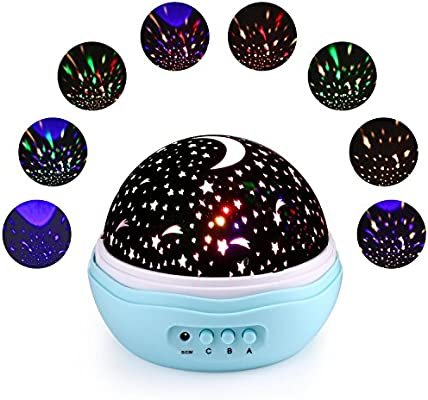 Qedertek Proyector del Cielo de la Estrella Lámpara Nocturna para ...