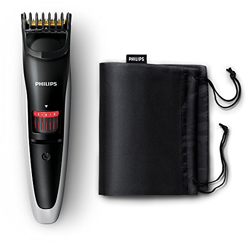 Philips Series 3000 Beard and Stubble Trimmer with Titanium Blades -...