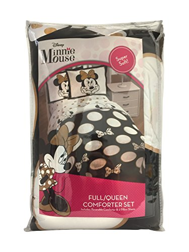 Disney Minnie Mouse Icon and Dots Comforter Sets