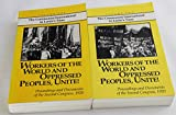 img - for Workers of the World and Oppressed Peoples, Unite!: Proceedings and Documents of the Second Congress, 1920, 2 Vol. (Communist International in Lenin's Time) book / textbook / text book