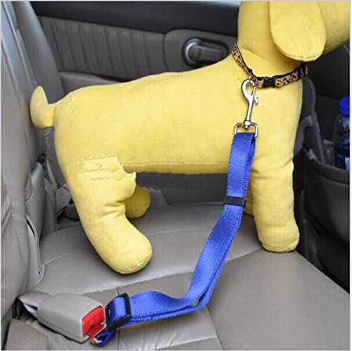 2014 Lefdy New 5 Colour Strong Pet/dog Car Travel Seat Belt Clip Lead Restraint Harness Auto Traction Leads Suitable
