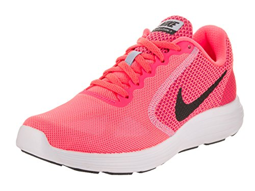 Nike Wmns Revolution 3, Zapatos para Correr para Mujer Multicolor (Hot Punch/black-aluminum-white)
